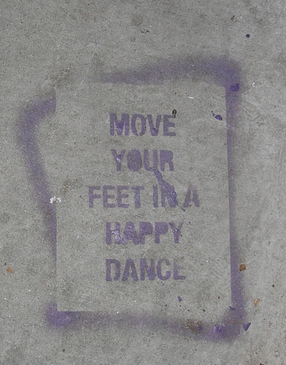 celtic_writer: Sidewalk Stencil, Albuquerque,   New Mexico