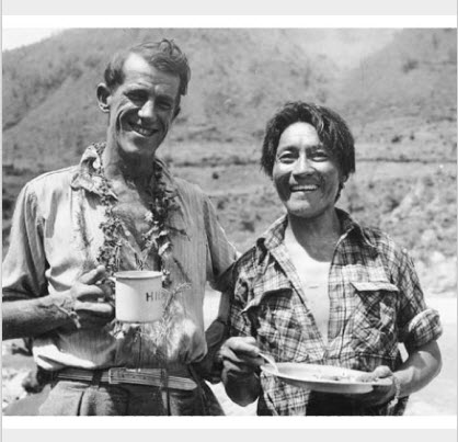 celtic_writer: Auckland: Sir Edmund Hillary and Sherpa mountaineer Tenzing Norgay