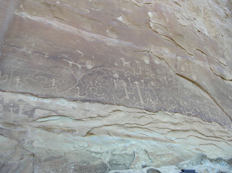 celtic_writer: Petroglyph Panel, Mesa Verde Colorado