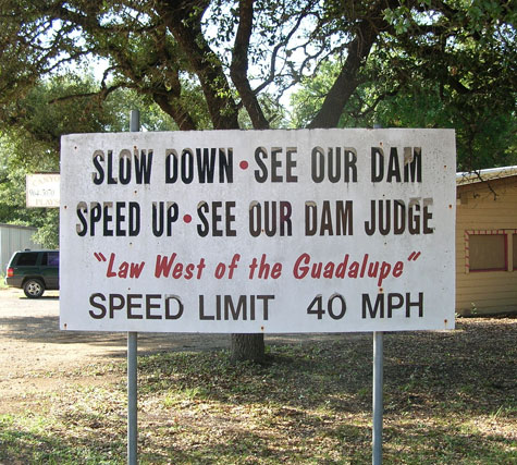 celtic_writer: Canyon Lake Texas Sign