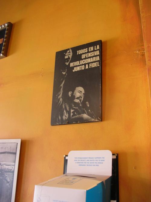 Photo of Fidel Castro Poster