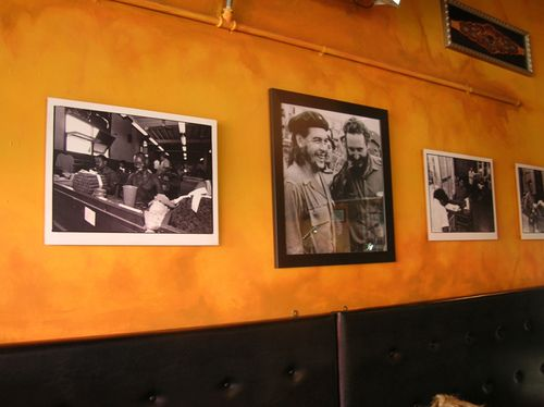 Wall Photos -- Fidel's Cafe